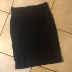🖤Forever 21 Black Skirt Sm/Petite Super Cu…